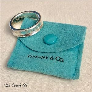 Tiffany & Co 1837 Sterling Silver Size 9.5 Ring